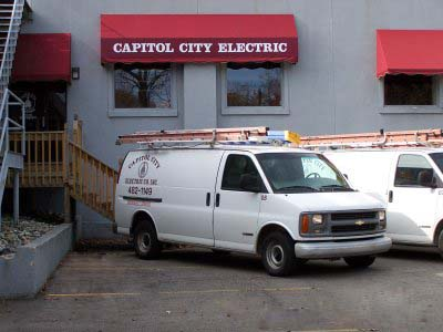 Capitol City Electric Service Trucks